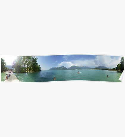 Lake Annecy Poster