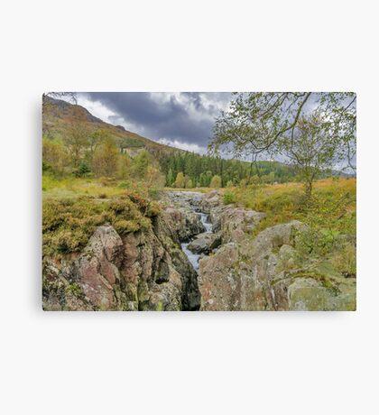 The River Duddon Lake District Canvas Print