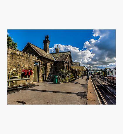 The Station Platform Photographic Print