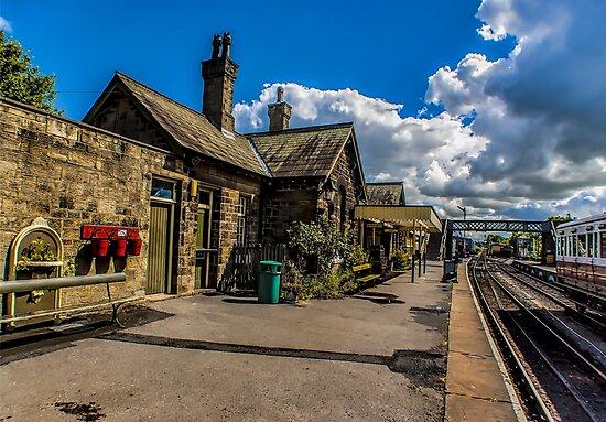 The Station Platform by Trevor Kersley