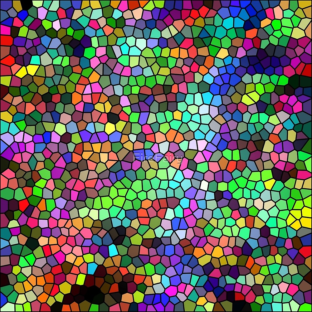 308. Rainbow Mosaic by FireFairy