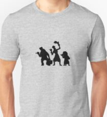 Haunted Mansion Hitchhiking Ghosts Slim Fit T-Shirt