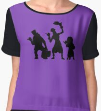 Haunted Mansion Hitchhiking Ghosts Chiffon Top