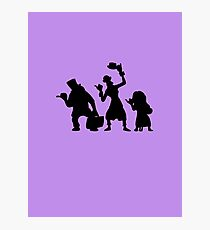 Haunted Mansion Hitchhiking Ghosts Photographic Print