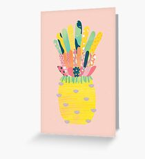 Pineapple Party Greeting Card