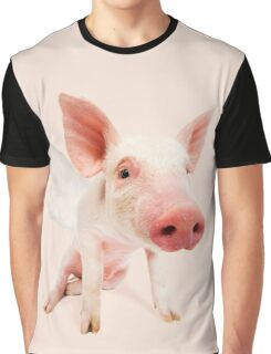 Pigs might fly! Pig with wings. Graphic T-Shirt