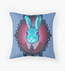 #harebrained Throw Pillow