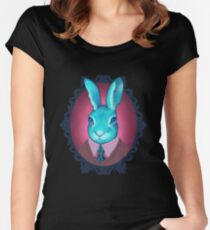 #harebrained Women's Fitted Scoop T-Shirt