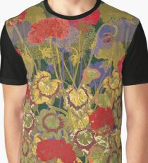 Red Geraniums Graphic T-Shirt