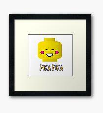 PIKA PIKACHU Framed Print