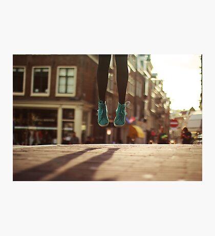 Cityhop - Amsterdam Photographic Print