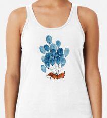 Camiseta de tirantes para mujer Perro Dachshund y globos