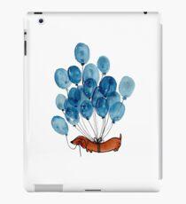 Dachshund dog and balloons iPad Case/Skin