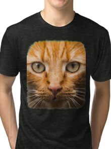 GTA 5 - cat shirt (I'm Not a Hipster) Tri-blend T-Shirt