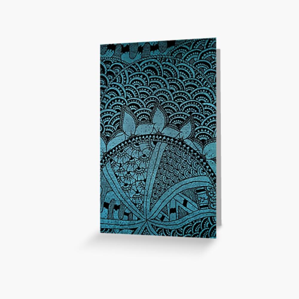 Mixture Patterns v.2 - Card Greeting Card
