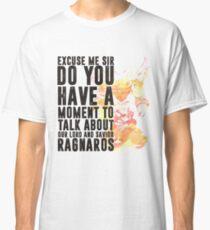 Ragnaros-Spiel Wordart Classic T-Shirt