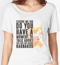 Ragnaros-Game wordart Women's Relaxed Fit T-Shirt