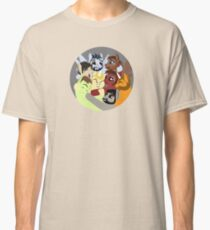 Hockey Ruining Ponies Hug Classic T-Shirt