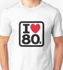 I love the 80's (eighties) T-Shirt