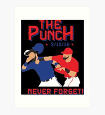 the punch Art Print