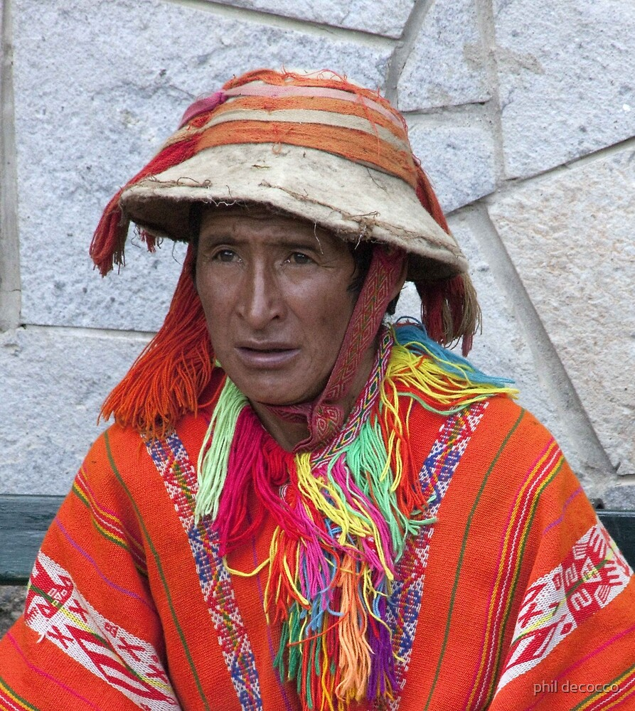 Inca Tunic by phil decocco