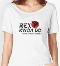 Rex Kwon Do - Bow to your sensei Women's Relaxed Fit T-Shirt