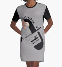 Bauhaus Graphic T-Shirt Dress