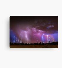 Thunderstorm  Canvas Print