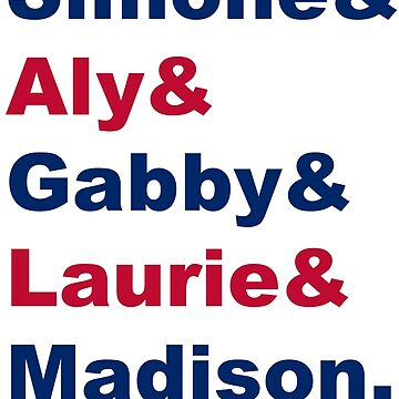 USA Gymnastics Team Names by naamaparamore