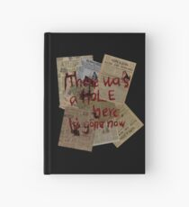 There was a Hole here, it's gone now  Hardcover Journal
