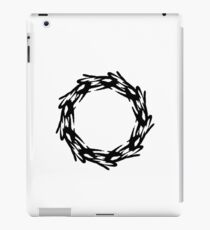Corona - The Victorious Crown of Champions (Black) iPad Case/Skin