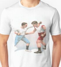 Vintage Boxing Manual Art Unisex T-Shirt