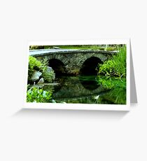 A Rock Bridge in the Country ^ Greeting Card