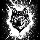 Black Wolf by SJ-Graphics