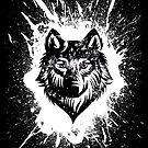 Black Wolf by SJ-Graphics