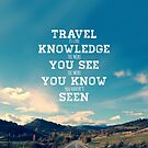 Retro Travel Quote by Media Jamshidi