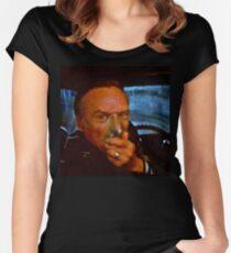 Frank, Blue Velvet  Fitted Scoop T-Shirt