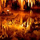 Luray Caverns - Reflections by ctheworld
