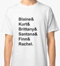 Glee Main Characters T-Shirt Classic T-Shirt