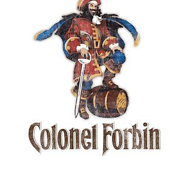 Colonel Forbin by waterslidepanda