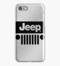 Jeep Steel Chrome iPhone Case/Skin