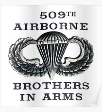 Jump Wings - 509th Airborne - Brothers in Arms Poster