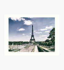 Lámina artística La Torre Eiffel