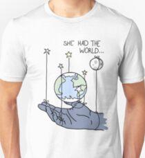 She Had The World Lyrics T-Shirt