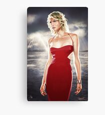 Caprica Six Canvas Print