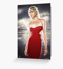 Caprica Six Greeting Card