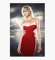 Caprica Six Photographic Print