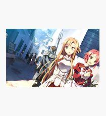 Sword Art Online Asuna and  Lisbeth Photographic Print