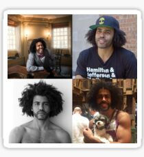 Pegatina Daveed Diggs Collage