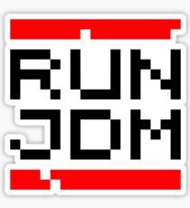 RUN JDM (1) Sticker